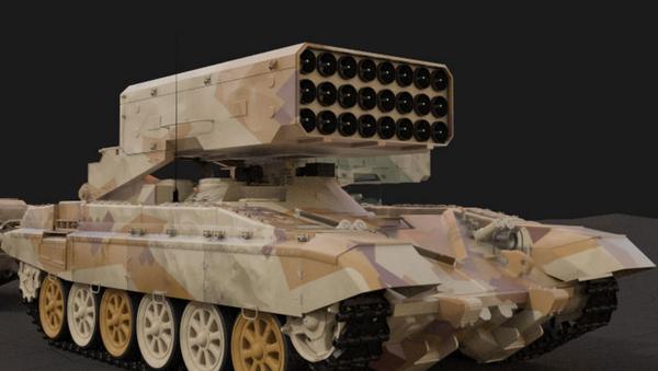Ağır alev makinesi TOS-1A - Sputnik Türkiye