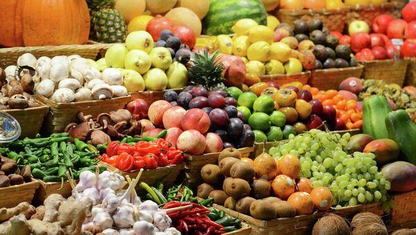 Rusya'da sebze pazarı - Sputnik Türkiye