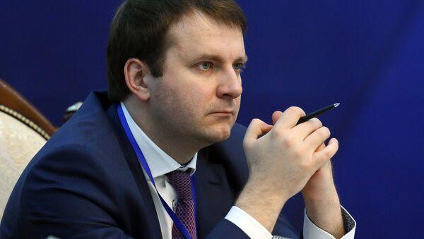 Rusya Ekonomik Kalkınma Bakanı Maksim Oreşkin - Sputnik Türkiye