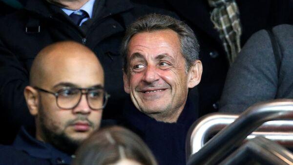 Nicolas Sarkozy Camp Nou stadından atıldı - Sputnik Türkiye