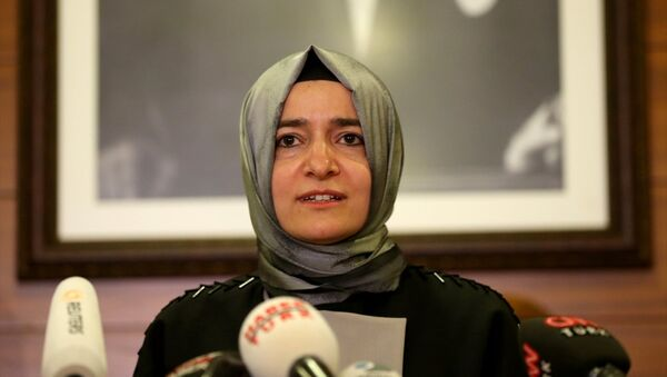 Fatma Betül Sayan Kaya - Sputnik Türkiye