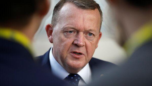 Danimarka Başbakanı Lars Rasmussen - Sputnik Türkiye