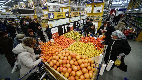 Rusya pazarında Türk meyve ve sebzeleri - Sputnik Türkiye