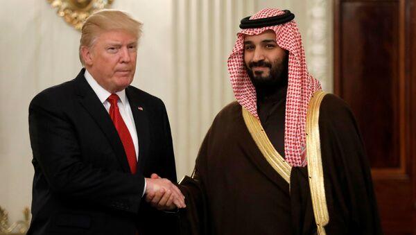 ABD Başkanı Trump ve Suudi 2. Veliaht Prensi Selman - Sputnik Türkiye