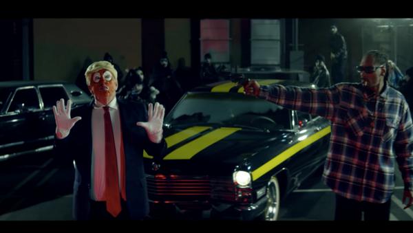 Snoop Dogg vs Trump - Sputnik Türkiye