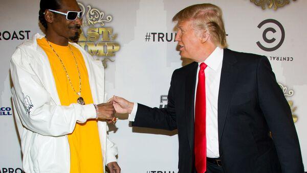 Snoop Dogg ve Donald Trump - Sputnik Türkiye
