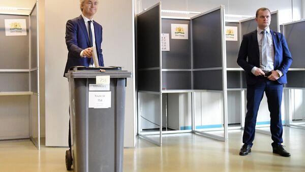 Hollandalı aşırı sağcı siyasetçi Geert Wilders - Sputnik Türkiye