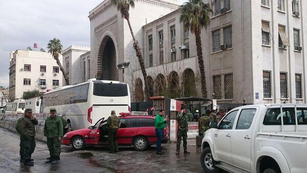 Şam'da Adliye Sarayı'na intihar saldırısı düzenlendi - Sputnik Türkiye