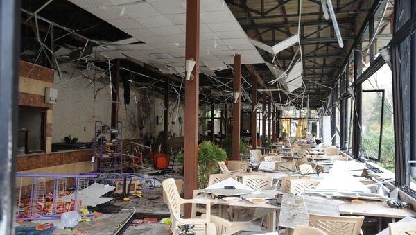 Şam'da terörist saldırılar - Sputnik Türkiye
