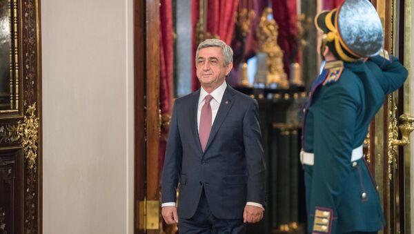 Ermenistan Devlet Başkanı Serj Sarkisyan - Sputnik Türkiye