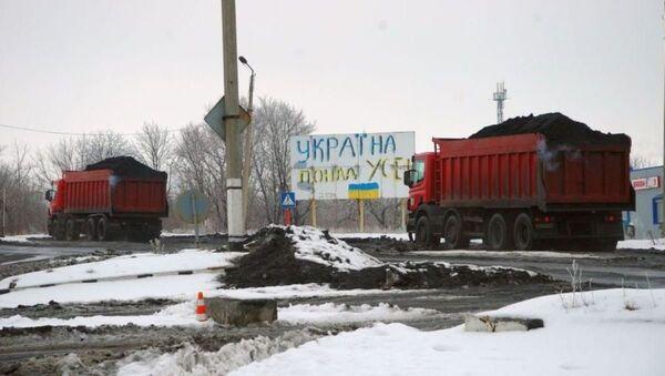 Ukrayna'dan Donbass'a ulaşım ablukası - Sputnik Türkiye