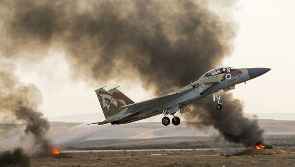 İsrail savaş uçakları / İsrail jetleri - Sputnik Türkiye