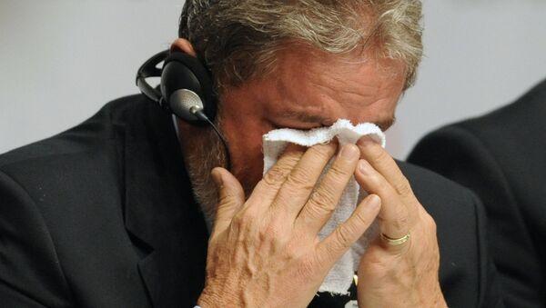 Eski Brezilya Devlet başkanı Luiz Inacio Lula da Silva 2 Ekim 2009'da Rio de Janerio'nun 2016 Olimpiyat Oyunları'nı ağırlamaya hak kazandığını öğrendiğinde mutluluktan gözyaşlarına hakim olamamıştı. - Sputnik Türkiye