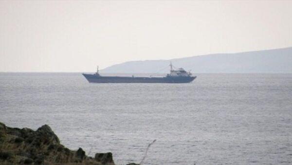 Libya açıklarında batan TINAZTEPE S isimli Türk gemisi  - Sputnik Türkiye