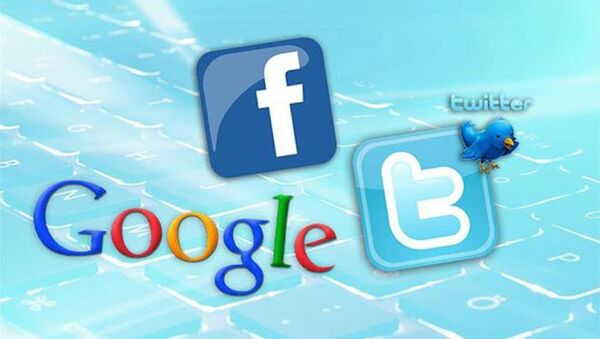 Facebook, Twitter, Google  - Sputnik Türkiye