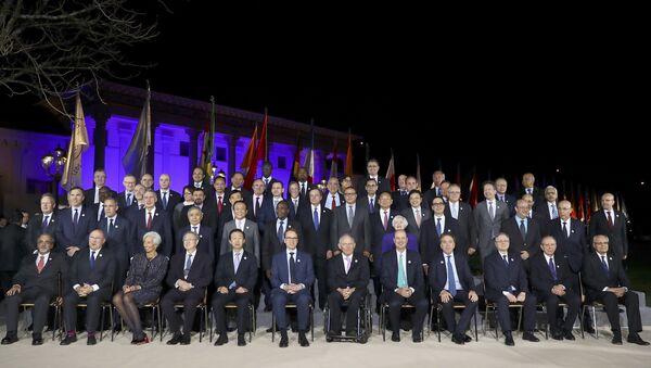 G-20  ülkelerinin maliye bakanları ve merkez bankası yöneticileri - Sputnik Türkiye