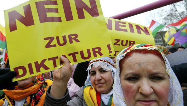 Frankfurt'ta Nevruz mitingi - Sputnik Türkiye