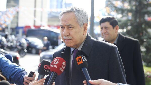 Eski TBMM Başkanı Bülent Arınç - Sputnik Türkiye