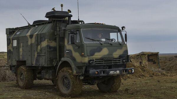 Kırım'da askeri tatbikat - Sputnik Türkiye