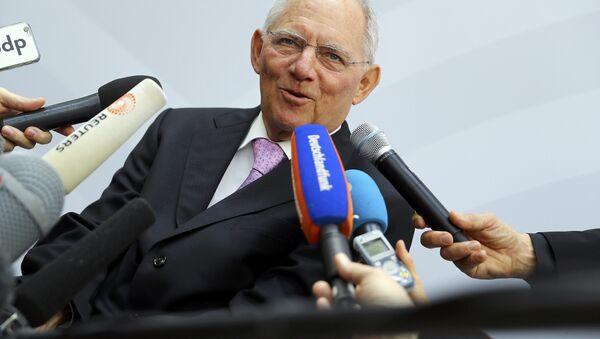 Alman Maliye Bakanı Wolfgang Schaeuble - Sputnik Türkiye