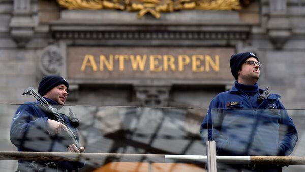 Antwerp polisi - Sputnik Türkiye
