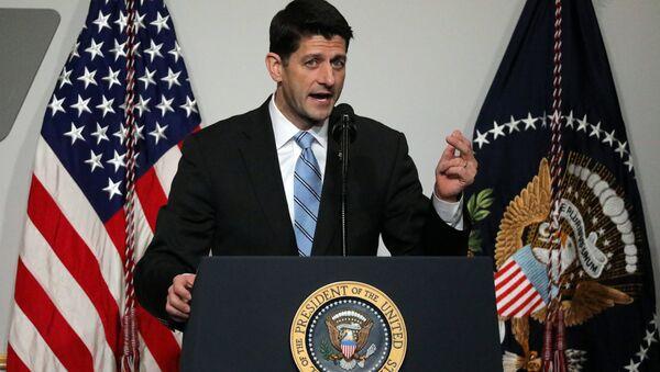 ABD Temsilciler Meclisi Başkanı Paul Ryan - Sputnik Türkiye