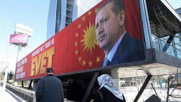 Recep Tayyip Erdoğan / Referandum - Sputnik Türkiye