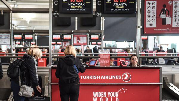 İstanbul Atatürk Havalimanı / THY - Sputnik Türkiye