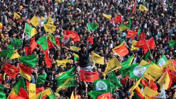 Diyarbakır'da Nevruz kutlamaları - Sputnik Türkiye