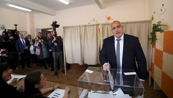 Boyko Borisov - Sputnik Türkiye