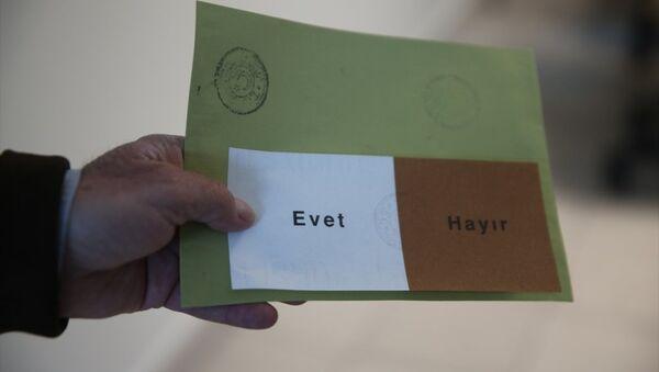 Referandum - oy - Sputnik Türkiye