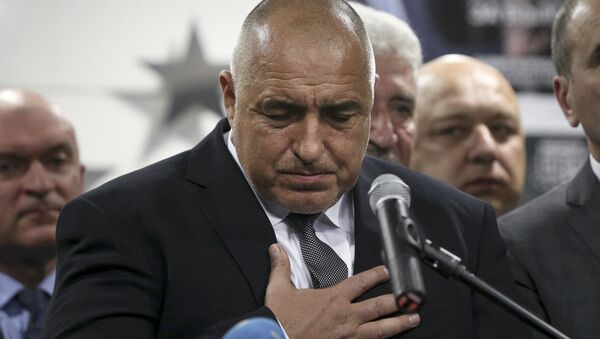 Eski Bulgaristan Başbakanı ve GERB lideri Boyko Borisov - Sputnik Türkiye
