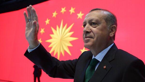 Recep Tayyip Erdoğan / Cumhurbaşkanlığı forsu - Sputnik Türkiye
