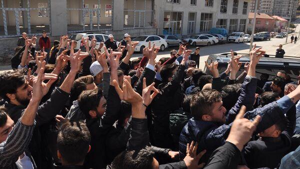 Sinan Oğan'ın Yozgat toplantısında çıkan arbede - Sputnik Türkiye