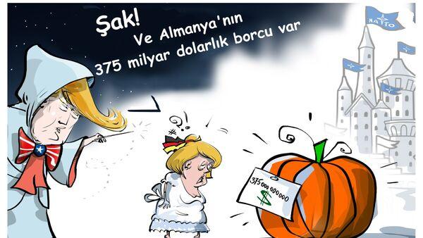 ABD'den Almanya'ya 375 milyar dolarlık NATO savunması faturası - Sputnik Türkiye
