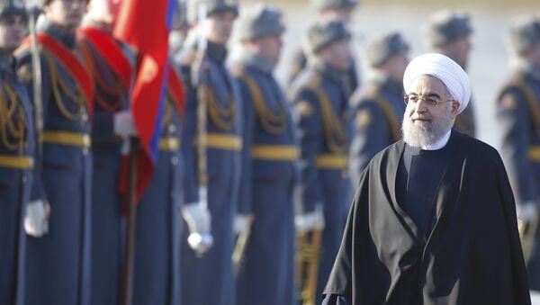 İran Cumhurbaşkanı Ruhani Moskova'da - Sputnik Türkiye