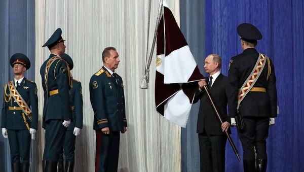 Vladimir Putin - Rosgvardiya Günü - Sputnik Türkiye