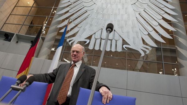 Almanya Federal Meclis Başkanı Norbert Lammert - Sputnik Türkiye