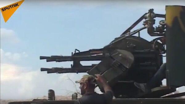 Suriye ordusu, Hama'da Fetih el Şam saldırılarını püskürtmeye devam ediyor - Sputnik Türkiye