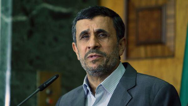 Eski İran Cumhurbaşkanı Mahmud Ahmedinejad - Sputnik Türkiye