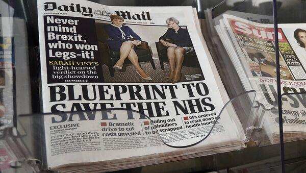 Daily Mail / Brexit manşeti - Sputnik Türkiye