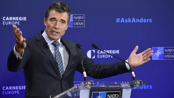 NATO General Secretary Anders Fogh Rasmussen (File) - Sputnik Türkiye
