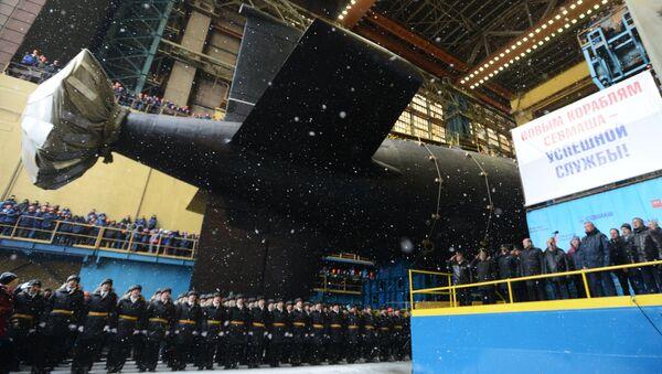 Yasen sınıfı dördüncü nesil Rus nükleer denizaltısı Kazan - Sputnik Türkiye