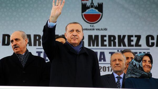 Cumhurbaşkanı Erdoğan Diyarbakır'da - Sputnik Türkiye