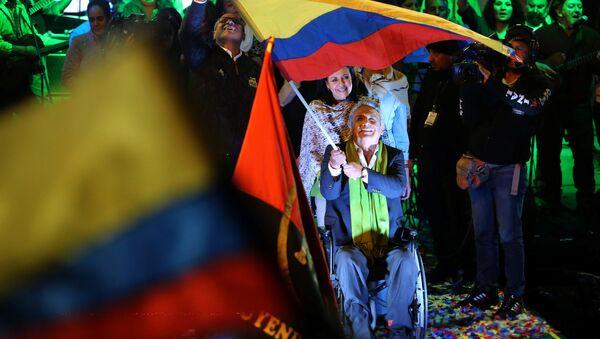 Ekvador devlet başkanlığına seçilen Lenin Moreno - Sputnik Türkiye