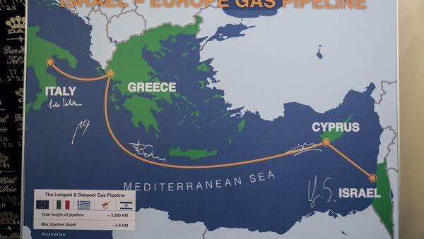 İsrail-Avrupa Doğalgaz Boru Hattı - Sputnik Türkiye