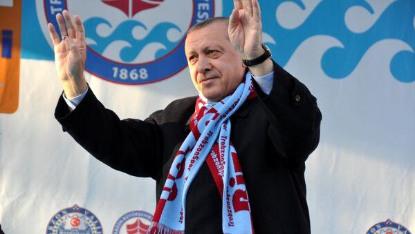 Cumhurbaşkanı Recep Tayyip Erdoğan, Trabzon'da - Sputnik Türkiye