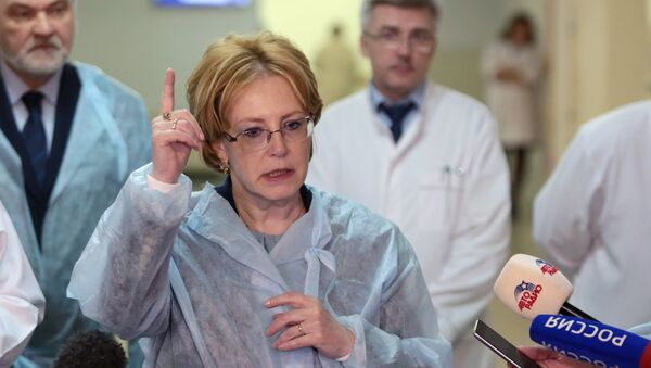 Rusya Sağlık Bakanı Veronika Skvortsova - Sputnik Türkiye