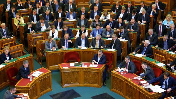 Macaristan parlamentosu - Sputnik Türkiye