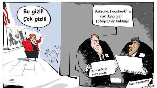 ABD'li senatör Shaheen, Putin ve Simonyan'ın 'gizliliği kaldırılmış' fotoğrafıyla sunum yaptı - Sputnik Türkiye